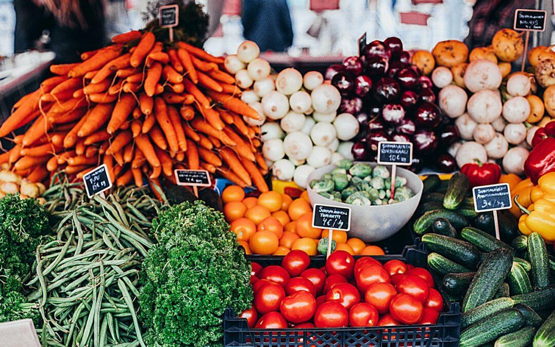 Criss-Cross The Vegetables